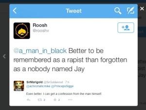 Roosh explains that he is a rapist